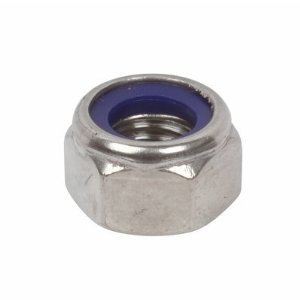 2.5mm Nyloc Stainless Steel Nut