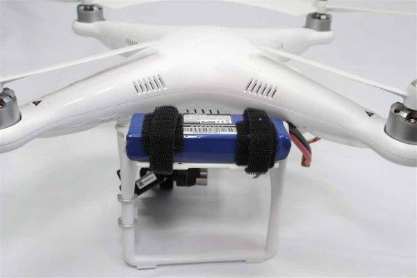 Phantom External Battery Trays White FR4 g10