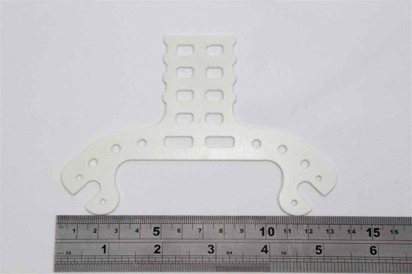 DJI Phantom Bracket white fr4 g10 fibreglass epoxy sheet White FR4 g10