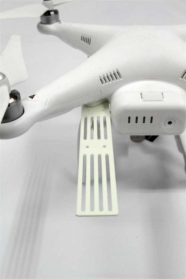 DJI Phantom - External Mounting Bracket White FR4 g10
