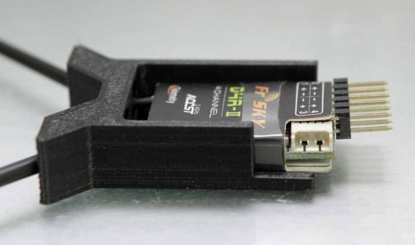 FrSKY D4R-II 3D Printed Case - Horizontal