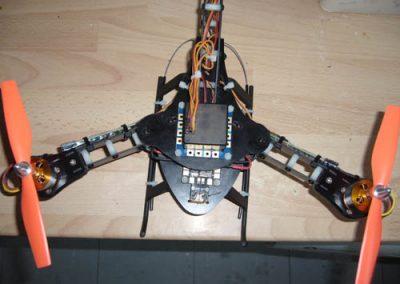Simon Delaney –HJ Y3 Tri Copter Solid Fr4 Arms