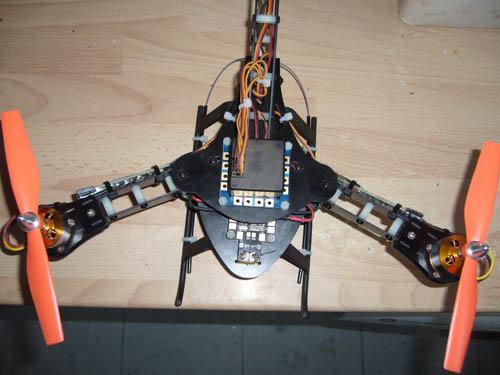 Simon Delaney – HJ Y3 Tri Copter Solid Fr4 Arms