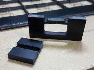 inter locking Fr4 parts