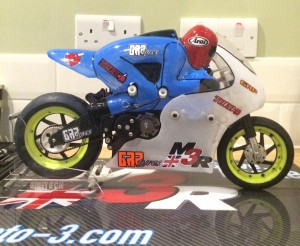 carbon m3r radio controlled motor cycle cnc routed radio control motor cycle parts made from Fr4 G10