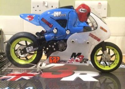 carbon m3r radio controlled motor cycle