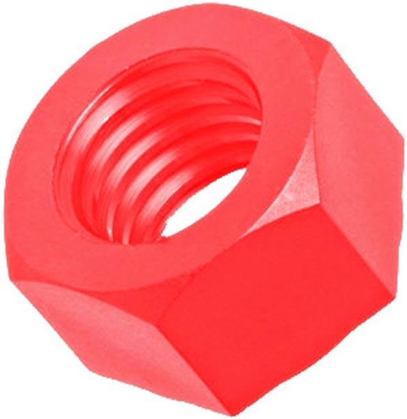 M4 Nylon Nut RED