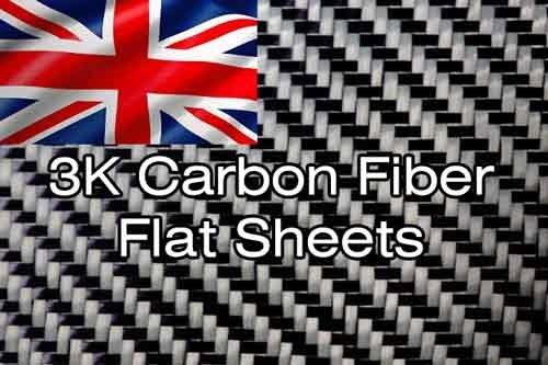 Carbon Fibre Sheet 3K Weave