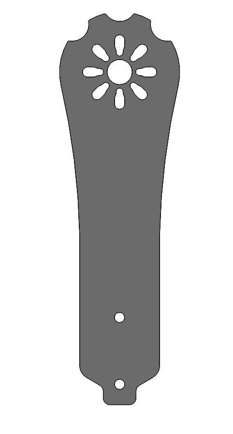 Diatone Blade 250 Glass Fibre Arm -SOLID cnc routed