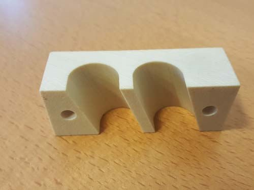 CNC angled clamps