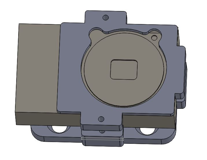 3D CAD design camera mount