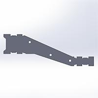 HJ-Y3-Tri-Copter-Leg