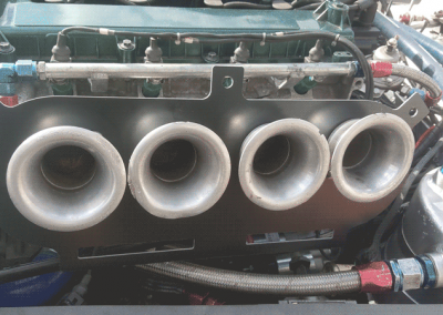 Caterham 7 air filter box modification