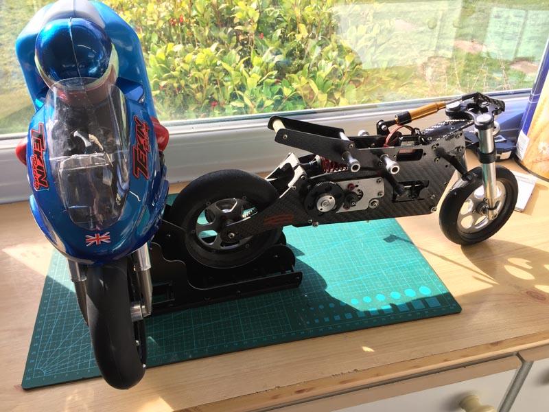 John Williams - Radio Control Motor Bike Stand