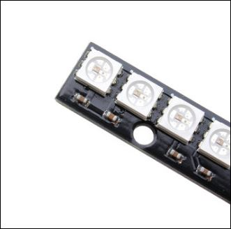 rgb led 8 strip fpv light bar indictor
