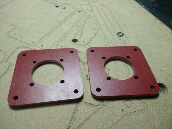 Electrical Insulation Gaskets Isolators GPO3 FR4 CNC Routed