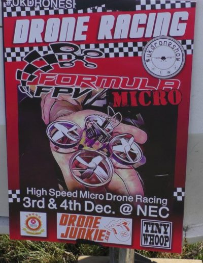 Formula FPV - Summer Rush pits frv-in-an-arm-chair drone-junkie-at-NEC-Poster