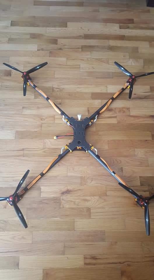 Carolina Xc 3k Carbon Drone Racing Frame Uk For The X